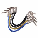 Guitar Parts Custom Colorful Cloth Guitar Effect Cable