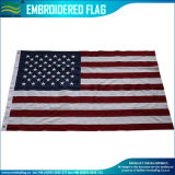 National USA Oxford Polyester Banner American Embroidered Stars America Flag (J-NF16F05005)