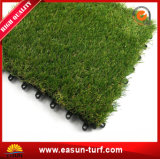 25mm Easy Installation plastic Artificial Grass Tiles for Landscaping