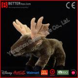 ASTM Stuffed Animal Moose Soft Toys Plush Toy Elk for Kids/Children