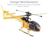 312333b-V915 Lama 4CH 2.4G 6 Axis Gyro RC Helicopter RTF - Us Plug Blue