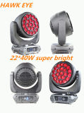 Stage Lighting Hawk Eye 22*40W RGBW4in1 K10 LED Moving Head