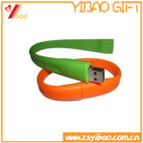 Professional Wholesale Colorful Silicone Bracelet Wristband USB