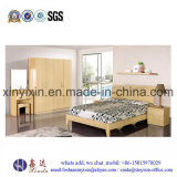 Wooden Bed Modern Apartment Hotel Bedroom Furniture (SH039#)