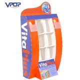 Vitaplus Soft Drink Promotion Floor Display Sidekick Display Stand