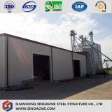 Steel Framed Construction / Building for Industry Processing