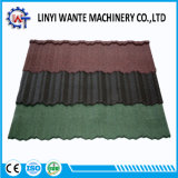 Masonry Material 0.4mm Thickness Colorful Metal Roof Tile Nosen Type