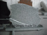 Cheap Grey G603 Granite Tombstone