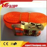 """1"""" Cargo Lashing Ratchet Tie Down Strap with S Hook"""