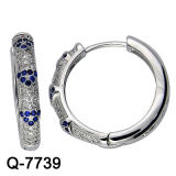 925 Silver Jewelry Hoop Earrings Factory Wholesale