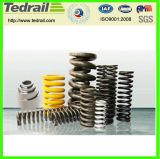 Heavy Duty Steel Composite Damping Compression Spring for Train/Drill/Cast