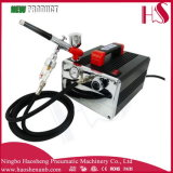 HS-216k New Precision Airbrush Air Compressor Kit Tool Set Craft Cake Hobby Paint Tattoo