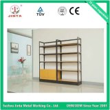 Wooden and Steel Single Sided Wall Shelf