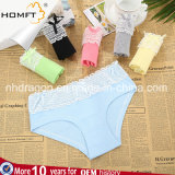 Summer Breathable Low-Waisted Cotton Solid Color Young Girls Underwear Briefs