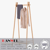 Popular Cloth Beech Standing Hanger Wooden Coat Rack