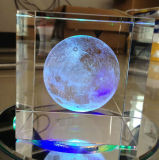 High Quality 3D Laser Crystal Cube for Decoration