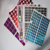 Round Full Color Hologram Labels