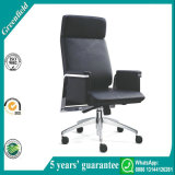Modern Black Swivel Executive Office Chair