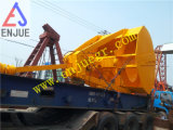 Single Rope Touch Open Double Scope Grab Bucket for Bulk Cargo for Sale