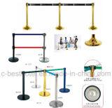 Newly Design Hotel Railing Belt-Metal-Crowd-Control Stand