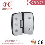 135 Degree Arc Shape Glass to Glass Shower Door Hinge with SGS Certificate (CR-Y07)