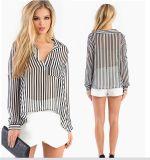 OEM Fashion Women Clothing Long Sleeve Loose Women Blouse