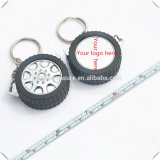 Promotional Round Mini Retractable Steel Tire Measure (MST-029)