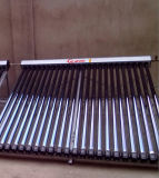 Solarkeymark Vacuum Tube Solar Collector with Heat Pipe