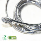 Expandable Braided Silver Metallized Sleeve for Racing Car Wire