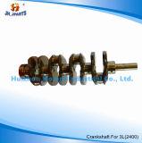 Auto Parts Crankshaft for Toyota 3L (2400) 13401-54020 13401-54060