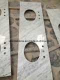 Polished blanco Natural Stone Marble para Kitchen Top y Sculpture