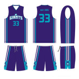 Purple Color Sublimation Basketball Jersey with Wholesale Price