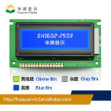 LCD Module for 16*2 Stn Green/Yellow