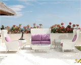 Rattan Garden Furniture, Patio Sofa Set, Rattan Sofa Suite Set (M6S806)