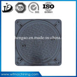 Cast Iron Sand Casting Manhole Cover with Coating/Painting Service