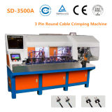 Automatic 3 Core Round Cable Crimping Machine