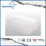 Bathroom Pure Acrylic Seamless Freestanding Bathtub (AB6511)