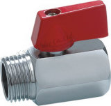 Male Thread Mini Brass Valve (YD-1038)