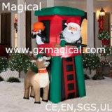 Inflatable Santa and Deer Model Family Set (MIC-365)