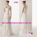 Pretty Beadwork Embroidery Bridal Wedding Dress