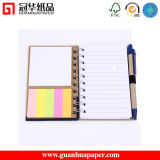 Logo Printed Notepad Spiral Sticky Note Pad with Pen