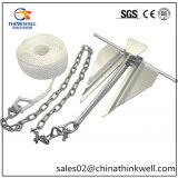 Shoreline Marine Boat Chain Slip Ring Danforth Anchor Kit