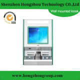 Wall Mounted Touch Screen Payment Kiosk with Cash Deposits