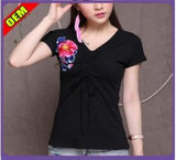 Fashion Sexy Printed T-Shirt for Women (W207)