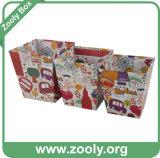 Cheap Cardboard Paper Trash Box Set 3 / Nesting Trash Boxes