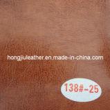 Bicolor Waxy Oil Leather for Furniture (Hongjiu-R64)