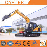 Hot Sales CT85-8b (8.5t) Multifunction Hydraulic Crawler Backhoe Excavator