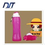 500ml Folding Hot Sale Travel Collapsible Silicone Water Bottle