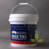 10L Plastic Bucket and Pail for Paint (PPP10L001FS)