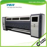 Outdoor Solvent Printer 3.4m *6PCS Seikospt510 1440dpi for PVC Vinyl